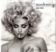 "BAD GIRL - UK 12"" VINYL + POSTER (W0154TW)"